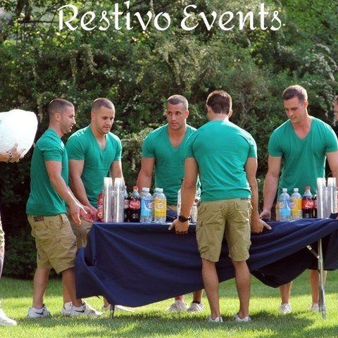 C1 - Hamptons Bartending Crew Event Setup - How Many Bartenders it Takes to Set Up a Bar?