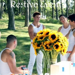 hamptons special events model staffing by Restivo