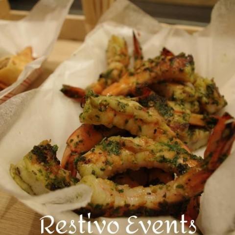 f21 - Catering Menu Grilled Chimichurri Shrimp