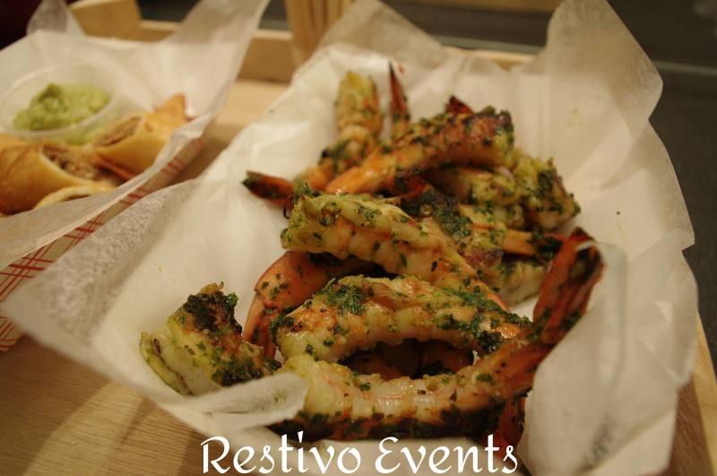 f21 - Catering Menu Grilled Chimichurri Shrimp