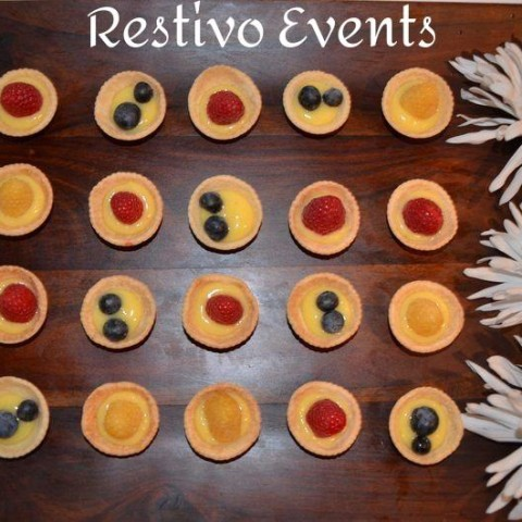f11 - Restivo Events Mini Fruit Tarts with Mascapone