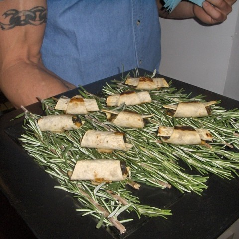 f13 - New York Catering Menu Mini Sausage Wraps