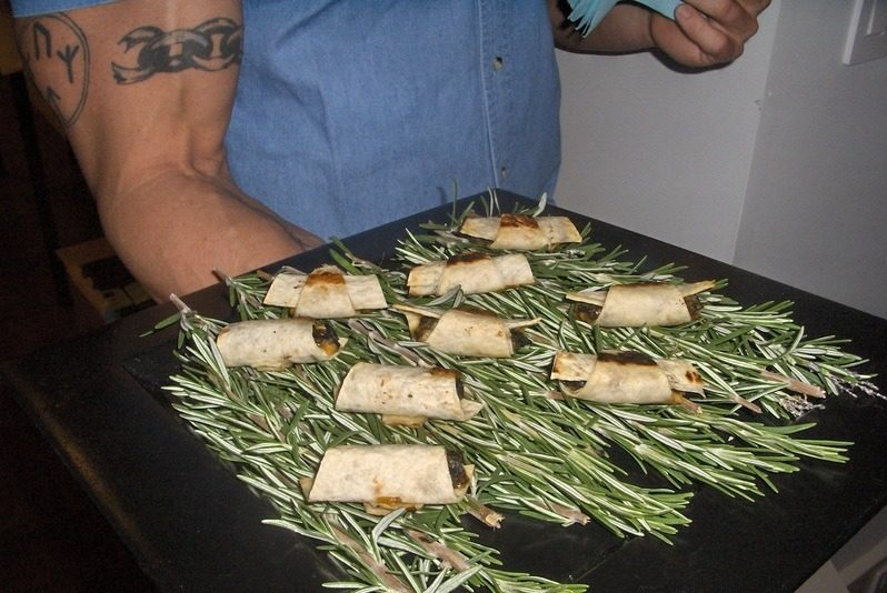 f13 - New York Catering Menu Mini Sausage Wraps