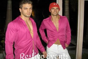 special-events-model-staff-in-bright-pink