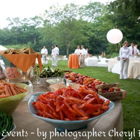 T10 - Hamptons Farm Fresh Upscale Outdoor Catering Event