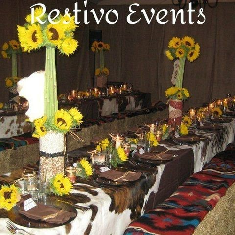 T5 - Special West Palm Beach Western Theme Party Staffed by Restivo Events