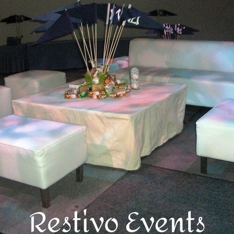 T7 - Casual Chic Lounge Event Theme - Financial District New York