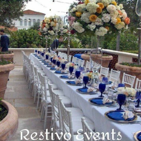 T9 - Snappy White and Blue Outdoor Event - West Palm Beach